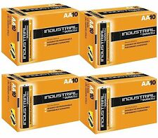 40 Duracell Industrial AA Size 1.5V Alkaline Professional Performance Battery HQ