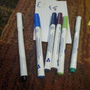 Creative Memories Round tip Pens set of 7 basic