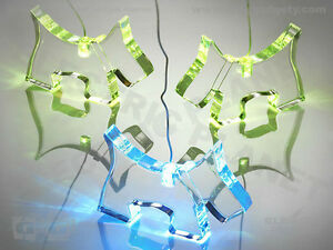 Scottie Dog Light-Up Colour-Changing LED Mobile Night-Light, Room Decoration