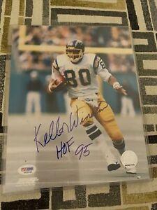 Kellen Winslow Chargers HOF Signed/Inscribed 8x10 Photo PSA/DNA