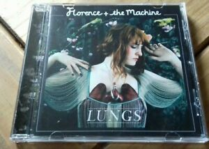 FLORENCE + THE MACHINE - LUNGS - CD ALBUM - 2009 - ISLAND RECORDS