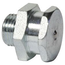 """G 1/8"""" [10 pezzi] DIN 3404 t1b piatto lubrificazione capezzoli ACCIAIO ZINCATO"""
