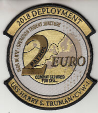 VFA-136 2018 DEPLOYMENT USS HARRY S. TRUMAN PATROL 2 EURO PATCH