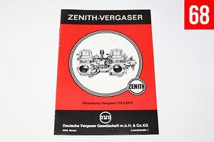 Stromberg 175 CDET Vergaser Unterlagen / Heft / Handbuch Beschreibung BMW 520