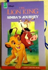 The lion king Giant carousel Book Simba's Journey New unread 1995 Mouse Works
