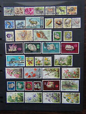 Flowers Used Postage African Stamps