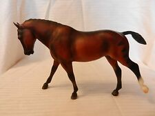 Breyer Welsh Show Pony Bay Cantering Brown One White Hoof #1174