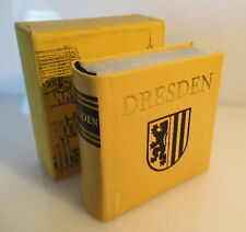Mini libro: Dresden Offizin andersen Nexö Leipzig 1977 bu0128