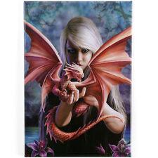 NEW Anne Stokes fridge magnet DRAGON KIN pentagram wicca SALE SALE