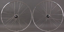 H + plus Son TB14 Track Bike Wheelset Polished Shimano Dura Ace 7600 Hub fx/fx