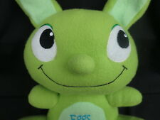 EGGS ARE FOR CHICKEN GREEN WACKY EASTER BUNNY RABBIT SOFT PLUSH STUFFED ANIMAL
