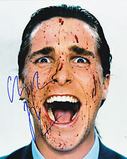 Christian Bale + Autogramm The Dark Knight American Psycho The Fighter Autograph