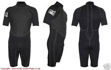 NEW 3 / 2 mm shorty summer surf wetsuit flat lock seems