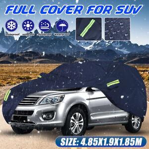 L Waterproof Full Car Cover For SUV Van Truck Outdoor Dust Sun Rain Snow