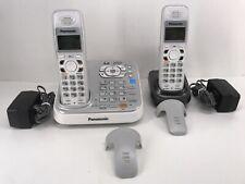 Panasonic KX-TG9341T Cordless Phone System  2 Handsets & Chargers 6.0 Intercom