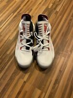 Adidas Dame 6 Low 'Scarlet' Basketball Shoes White Red EH2069 Men's Size 9.5