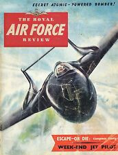 RAF FLYING REVIEW JAN 53: / RED ATOMIC BOMBER/ GERMAN JETS/ 82 SQN PHOTO RECON