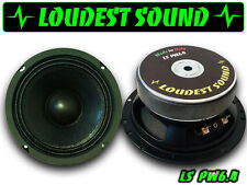 COPPIA Loudest Sound LS PW6.4 Mid woofer 16 cm audio 165mm predisposizioni auto