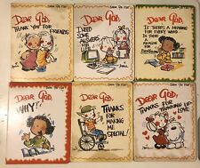 Lot of 6 Dear God Board Books by Annie Fitzgerald Children Kids Christian