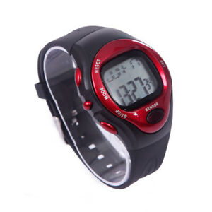 Fitness Sports Wrist Watch Calorie Pulse Heart Rate Stop Watch Exercise Workout