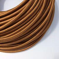 Textilkabel 5-adrig 5x0,75 Lampenkabel Stromkabel Ersatzkabel Kupfer Top Design