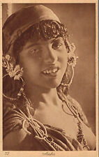"""Middle East,North Africa,Arab with Burka,""""Aisha"""",# 113,c.1909"""