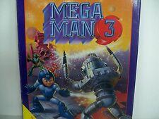 D0507597 MEGA MAN 3 NES 100% WORKING BOX PLASTIC CASE DUST COVER