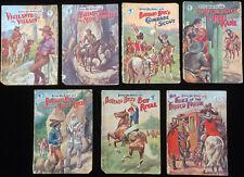Original 1930 Buffalo Bill Novels British Boys Pulp Early Westerns 7 Books