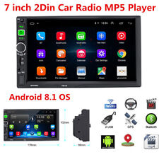 7inch Android 8.1 Double 2Din Car Stereo Radio GPS Wifi OBD Mirror Link 3G/4G