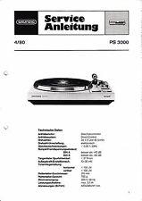 Service Manual-Anleitung für Grundig PS 3000