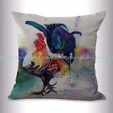 US SELLER, farmhouse animal rooster chicken cushion cover throw pillow covers