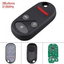 315MHz 3 Buttons Keyless Remote Key Fob KOBUTAH2T Fit for 1998-2002 Honda Accord