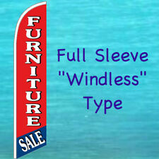 Furniture Sale Windless Banner Flag Tall Curved Feather Swooper Advertising Sign