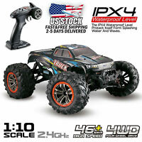 Hosim RC Monster Truck Car 1:10 Scale 4WD 2.4Ghz Off-road Remote Control Car US