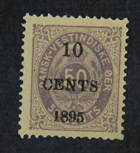 CKStamps: US Stamps Collection Danish West Indies Scott#15 Mint H OG
