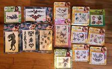 Temporary Tattoos Body Art Glitter Panther Asian Fairies Butterflies