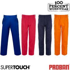 Supertouch Weld Tex Flame Retardant Cotton Work Trousers Pants Welding Welders