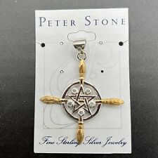 More details for broomstick pendant with moonstone jewellery jwr010 ✔100%genuine✔ukseller