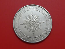 St. Tropez Casino Cruises 25 Cents Gaming Token Hard to find
