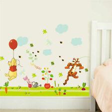 Winnie The Pooh Tiger Balloon Wall Stickers Kids Baby Nursery Decor Vinyl Decal