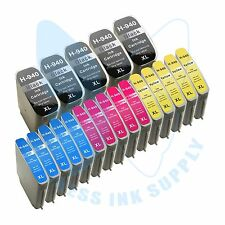 20 PK New 940XL 940 Ink Cartridges for HP OfficeJet Pro 8000 8500 8500A Printer