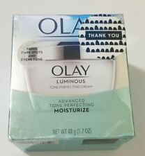 New Taped Sealed Olay Luminous Tone Perfecting Cream Moisturizer 1.7 oz