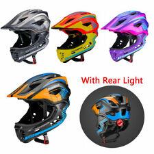 ROCKBROS Bike Kids Full Face Helmet for Children Safety Shockproof Anti-sweat