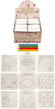 WEDDING ACTIVITY PACK GAMES PUZZLES COLOURING BOOK CHILDREN KIDS PARTY BAGS UK