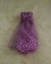 MONSTER HIGH CLAWDEEEN WOLF FAMILY DOLLS DRESS  VG USED CONDITION OOAK PLAY