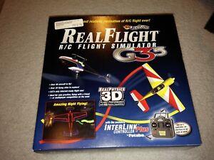 Real Flight RC Simulator G3.5 RealFlight R/C 3D Controller Futaba Sealed New Box