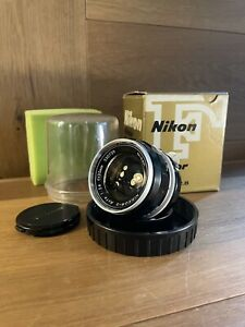 *Mint in Box* Nikon Nikkor S Auto 35mm F/2.8 Non Ai Wide Angle MF Lens From JPN