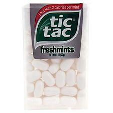 12 Pack- Tic Tac Freshmint 1oz Each