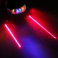 5 LED Laser Beam MTB Mountain Bicycle Bike Cycle Rear Tail Warning Lamp Light HP