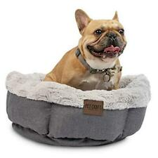 New listing Pet Craft Machine Washable Memory Foam Donut Cuddler Calming Style Small Dog